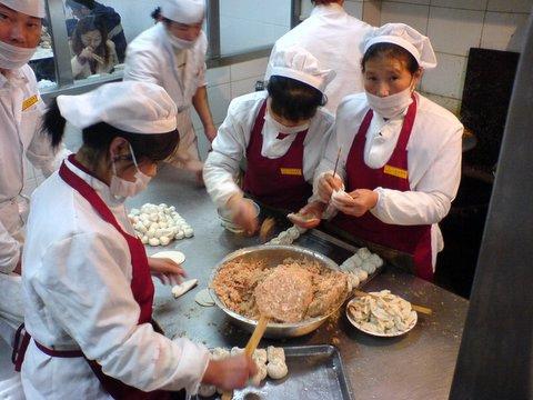 Dumpling Assembly Line