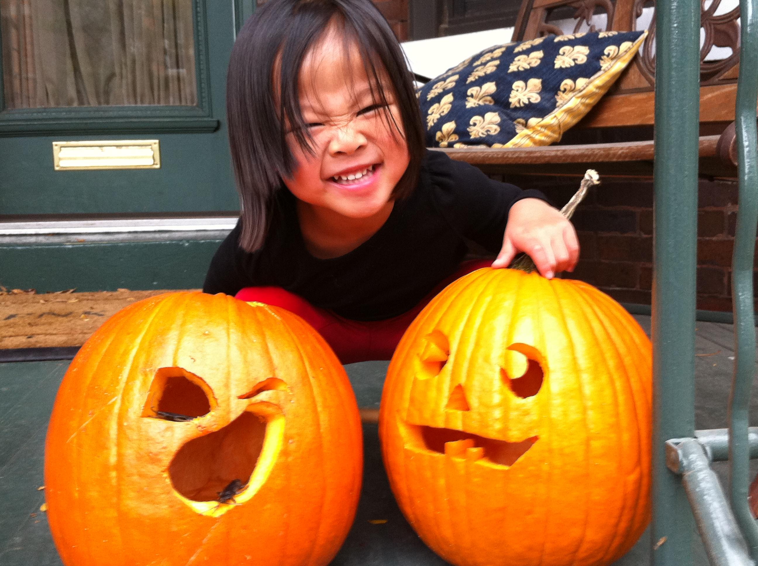 My 3 Pumpkins
