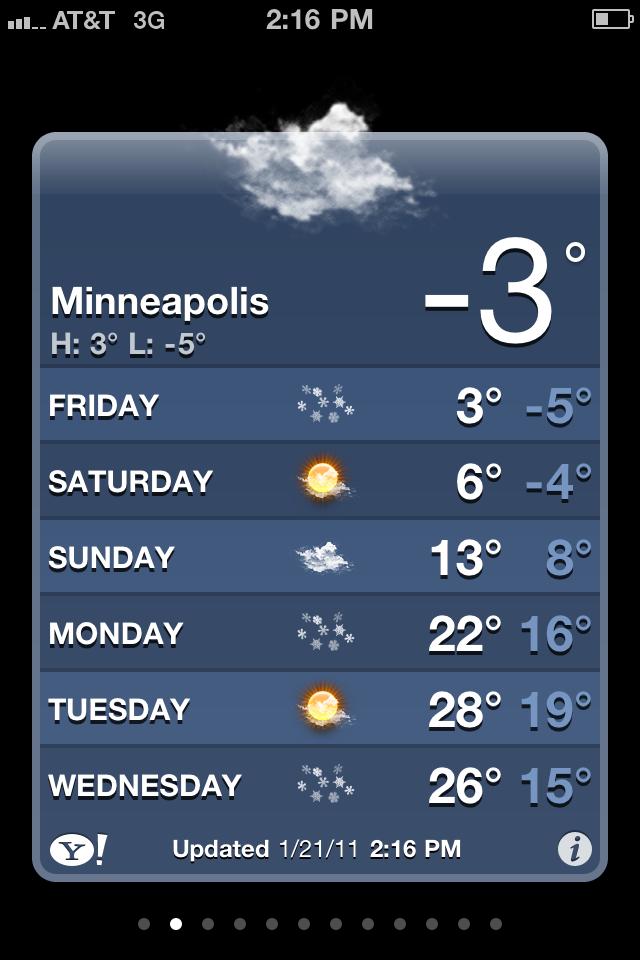 #%$& cold!!!