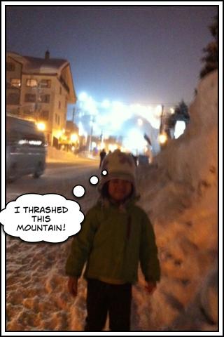 Gioia skiing
