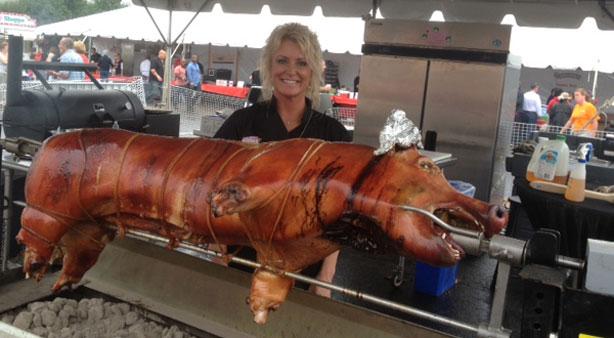 Chicago Q Smoked Pork recipe