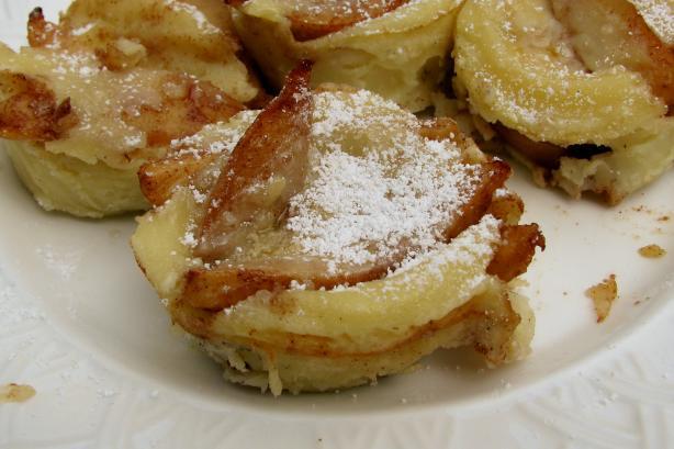 Muffin Tin Apple Pancakes