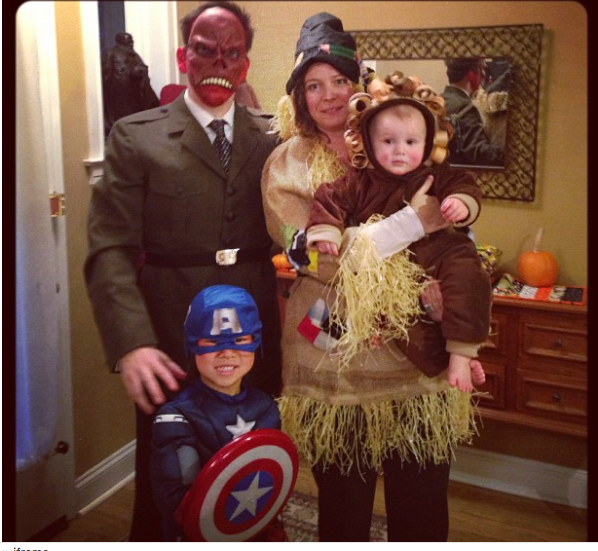 Happy Halloween 2012 – Captain America & Red Skull