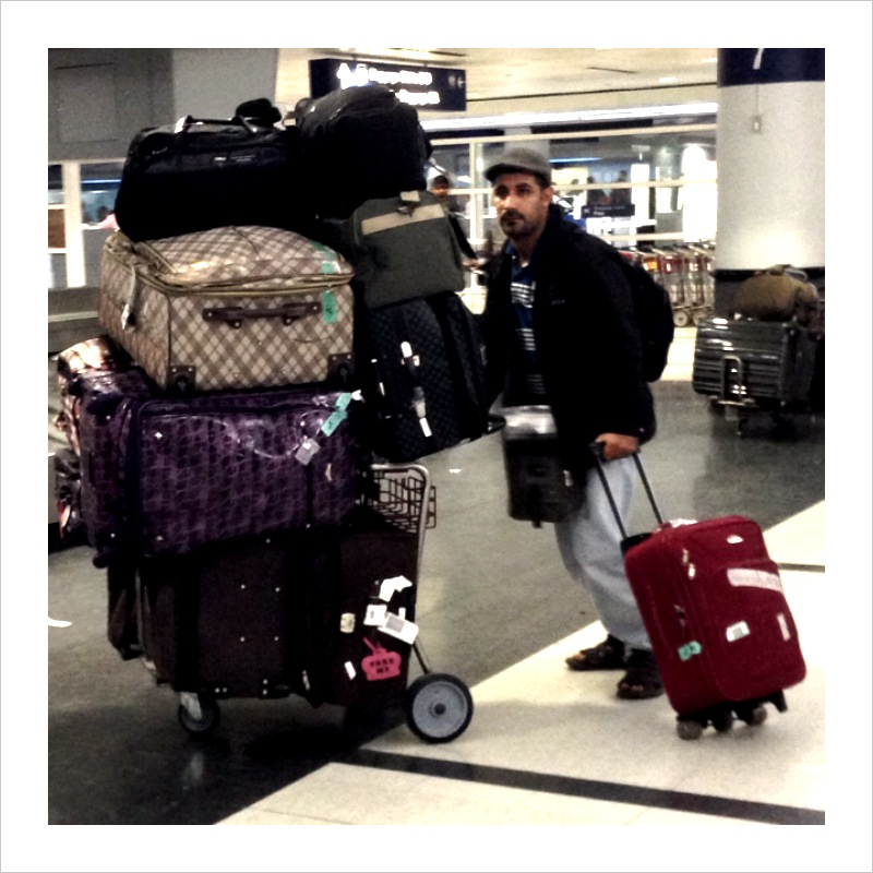 Only one carry-on