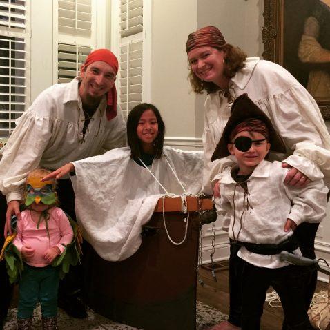 Happy Halloween 2016 – Pirates!
