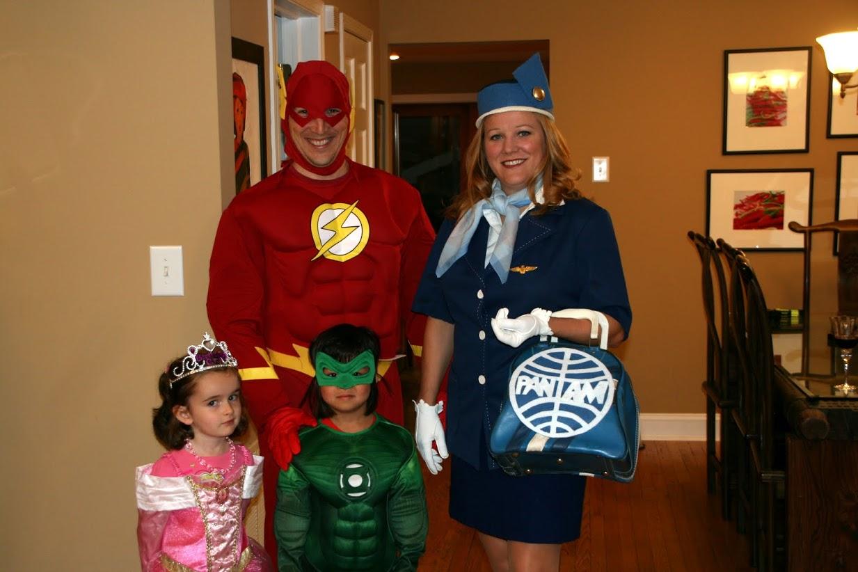 Happy Halloween 2011 – Green Lantern & Flash