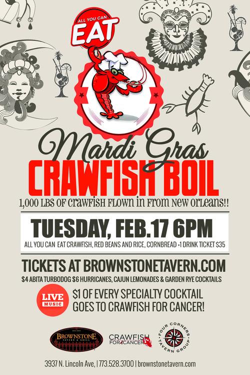 Crawfish for cancer