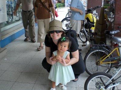 My two big bike riders